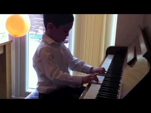 The Suzuki School of Music - Six year old Luke performs his Piano Book 1 Graduation