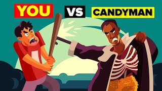 How Could You Defeat and Survive Candyman? You vs Monster Candyman (Candyman Horror Movie)
