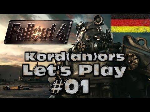 Let's Play - Fallout 4 #01 [Survival][DE] by Kordanor