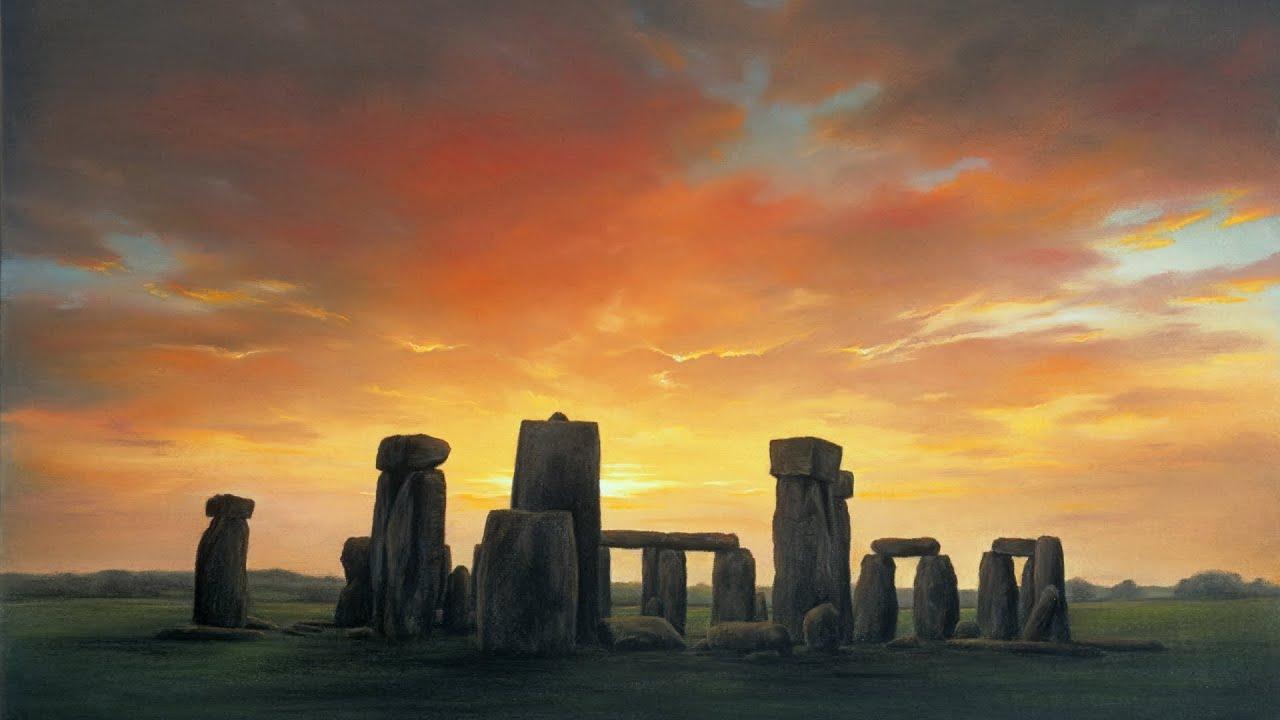 stonehenge moonlight - 1280×720