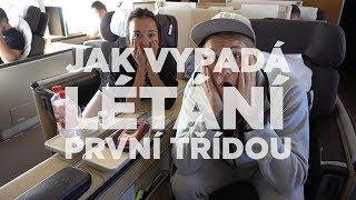 Jak vypadá letání první třídou z L.A. do Prahy ? [ VLOG ]