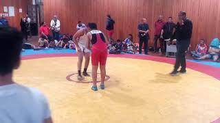 محمود النمر في بطولة الجيزة للمدارس الأعدادية ( المباراة الأولى مجموعات ) 2018