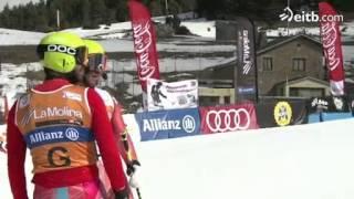 Jon Santacana gana la medalla de oro en el Gigante