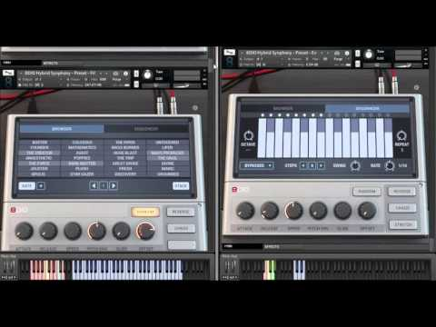 8Dio Hybrid Tools Synphony Presets