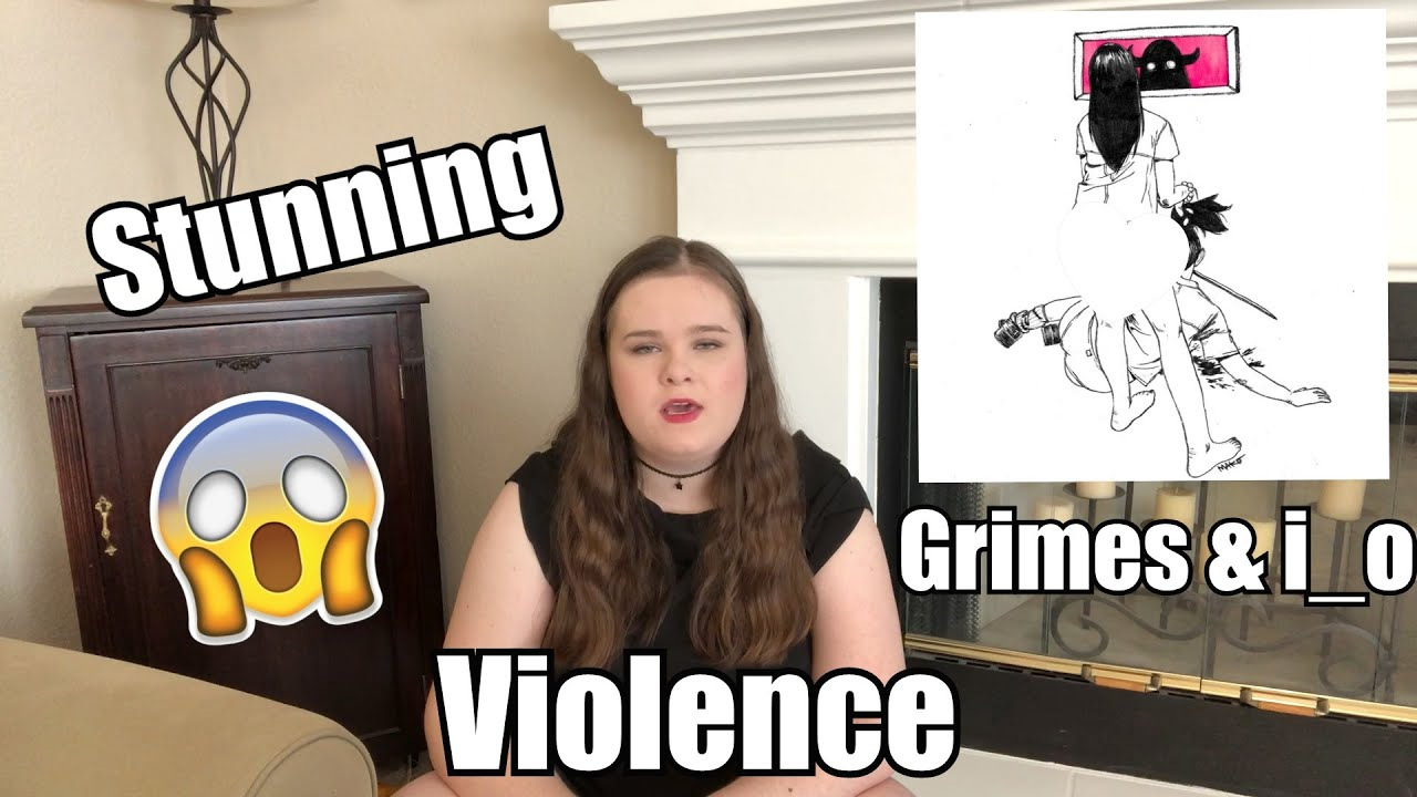 stunning grimes i o violence cover youtube youtube