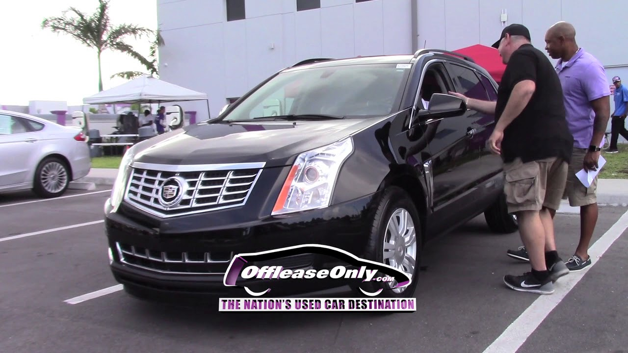 Off Lease Only Reviews Used Cadillac Srx West Palm Beach