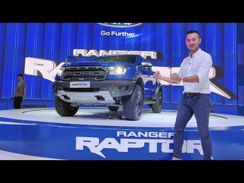 VMS 2018 - Chi tiết Ford Ranger Raptor tại Việt Nam giá 1,2 tỷ đồng