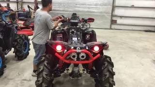 Repeat youtube video CAN-AM RENEGADE XMR CAMMED UP AND FULL EXHAUST START UP!