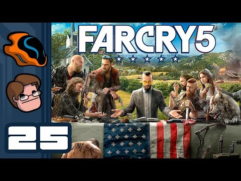 Let's Play Far Cry 5 [Co-Op] - PC Gameplay Part 25 - Oh No, He's Had A Heart Attack... Suddenly...