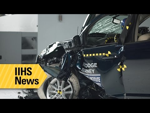 Midsize SUVs have mixed small overlap results - IIHS News