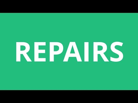 How To Pronounce Repairs - Pronunciation Academy