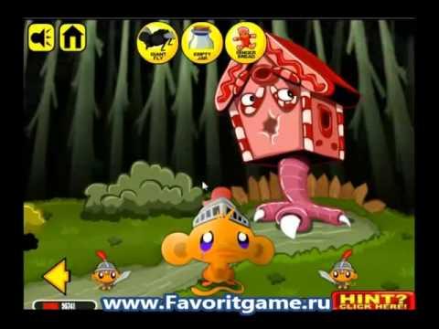 обезьянка игры 3 видео прохождение счастливая