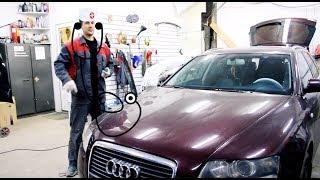 Московская зараза VAGов и как ее лечить. Ремонт Audi A6.