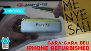 MENYESAL, Beli iPhone 5c REFURBISHED Grade A Garansi Distributor. Untung Bisa Retur