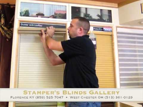 How To Remove And Reinstall A Cordless Hunter Douglas Honeycomb Shade By Stampers Blinds Gallery