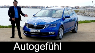Skoda Octavia Facelift FULL REVIEW 1.8 TSI Combi Estate test driven new neu 2018/2017
