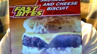 Fast Bites Sausage & Cheese Biscuit