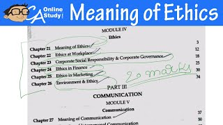 Meaning of Ethics Lecture in Hindi - Ethics And Communication | IPCC
