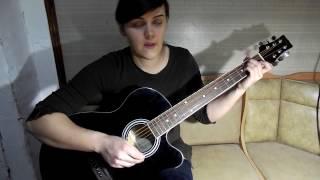 Разбор песни на гитаре- одинокий демон.