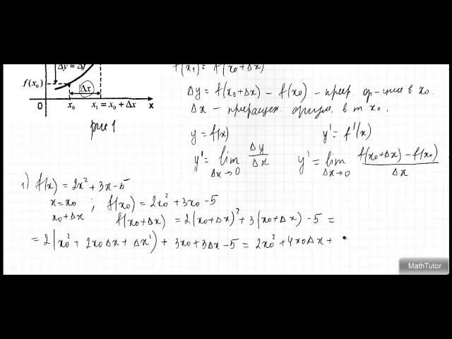 Видеоуроки по алгебре 10 класс