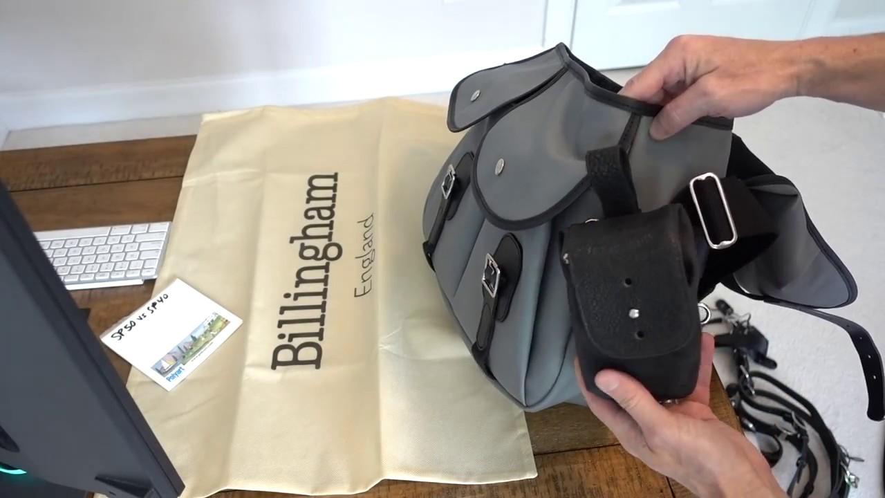 51bac7dbc Billingham Hadley Large Pro review (gray camera bag photo) - YouTube
