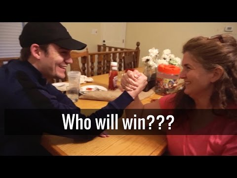 arm-wrestling my mother-in-law