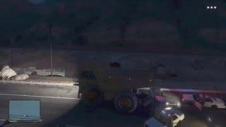 GTA 5 - Dump Truck Police Chase (GTA V)