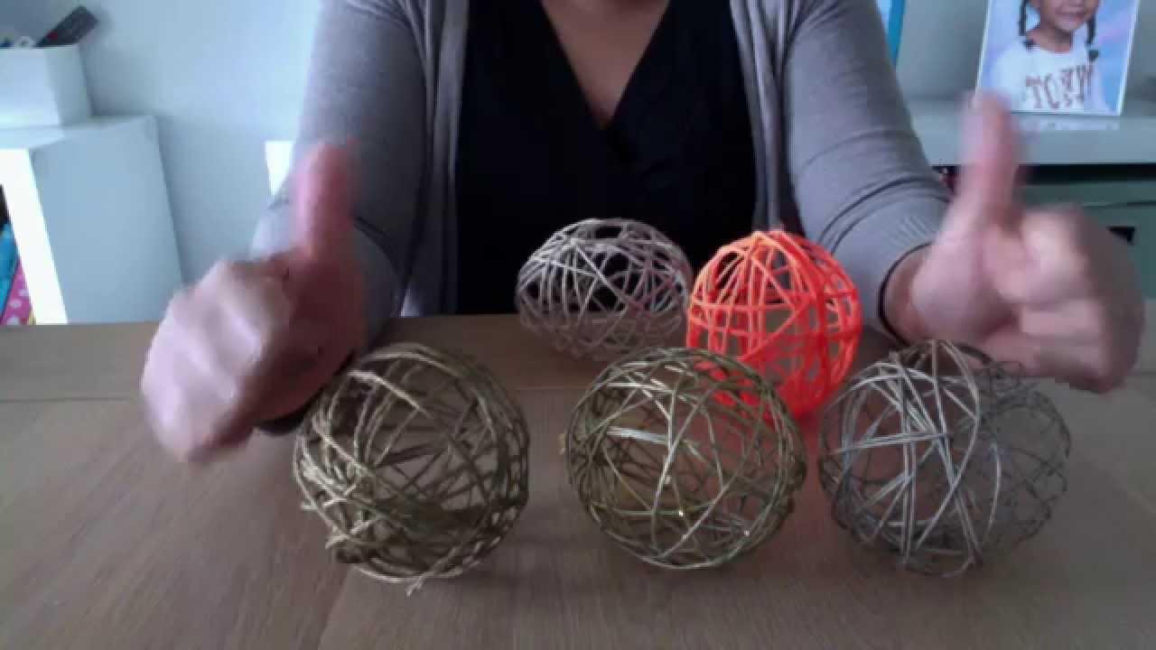 C mo hacer bolas o esferas de navidad originales y - Esferas de navidad ...