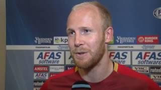 Reactie Van der Linden na AZ - FC Groningen