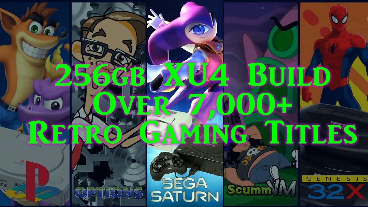 Epic 256gb Odroid XU4 Retro Gaming Build - 7,000+ Games