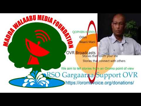 Oromo Voice Radio (OVR) Broadcasts- 17 March  2018