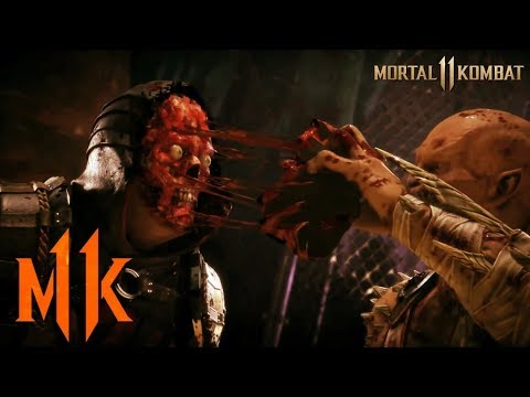 MESSED UP FATALITIES! OMFG! - Mortal Kombat 11 LIVE REACTIONS! [GAMEPLAY, MECHANICS AND MORE!!]