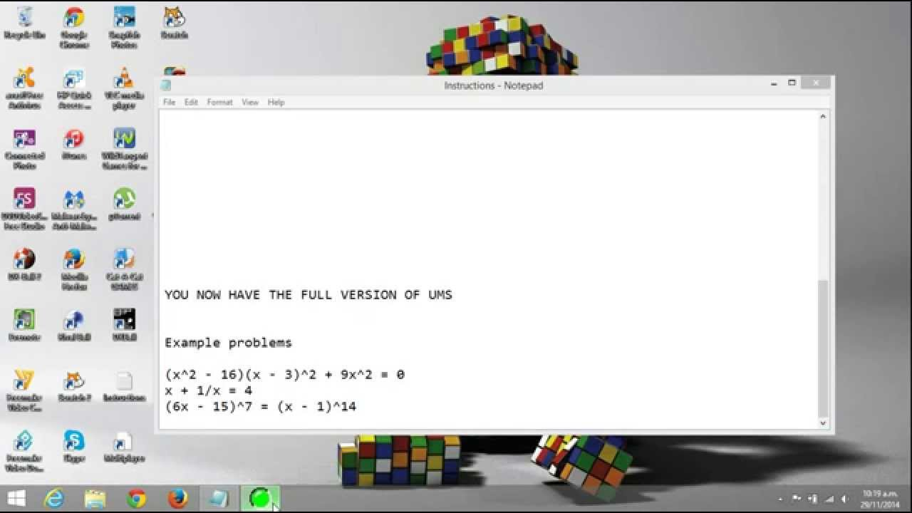 UMS (Universal Math Solver) Full Version Free Download v10.0 + crack ...
