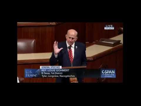 Gohmert Speaks on House Floor about the Recent Rosenstein Hearing