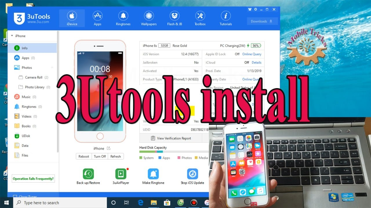 3Utools How to install on windows - Mobile Tricks