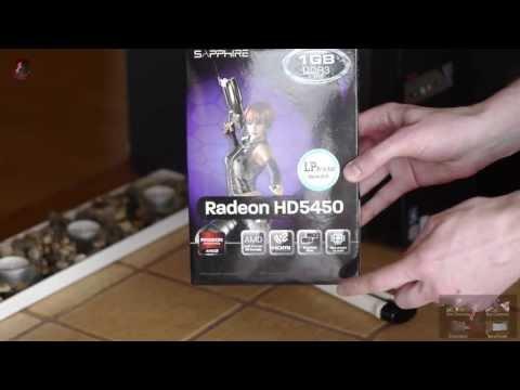 Sapphire AMD Radeon HD 5450 1GB Low Profile Review