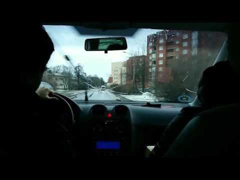 Tallinn timelapse drive car