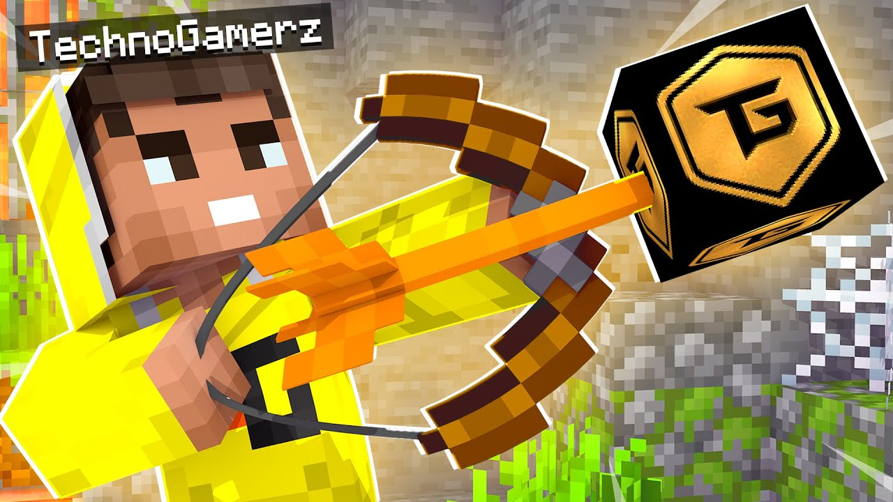 Minecraft But YouTubers Are Arrows
