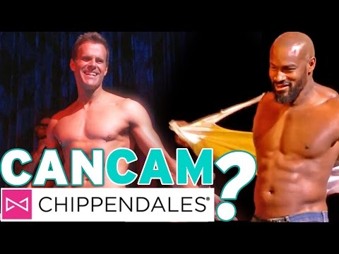 Can Cam Strip With Tyson Beckford and The Chippendales?! | 'Can Cam' Challenge Video 4