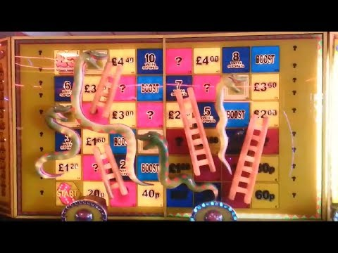 Adders and Ladders Fruit Machine at Walton Pier - (UK Arcades Shoutout)
