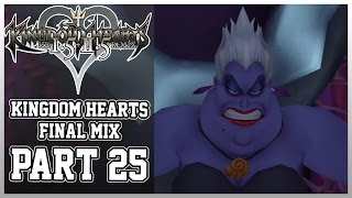 Kingdom Hearts 1.5+2.5: Kingdom Hearts Final Mix (PS4) Part 25 -VS Ursula