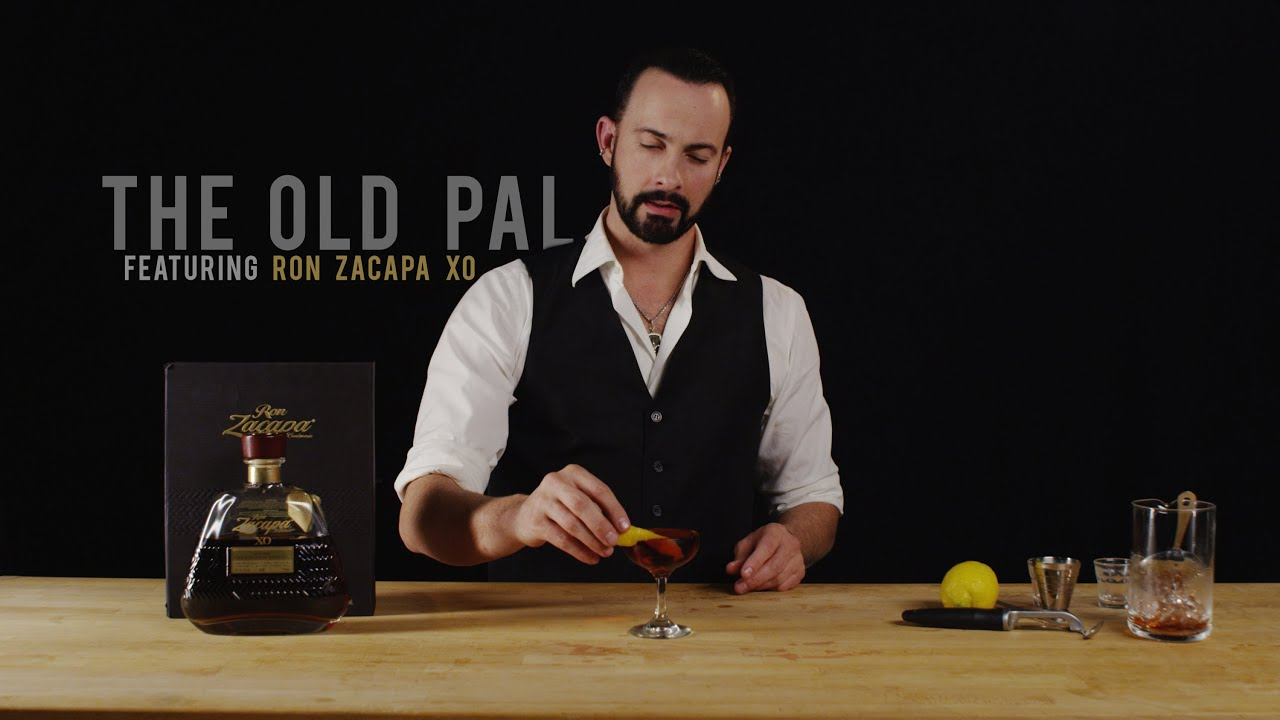 How to Make The old Pal - Featuring Ron Zacapa XO - YouTube