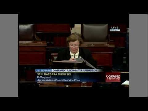 Sen. Barbara Mikulski slam Republicans over refusing aid to Flint, Michigan