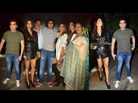 Malaika Arora & Ex-Husband Arbaaz Khan Came Togethar To Celebrate Son Arhaan Khan's Birthday Mp3