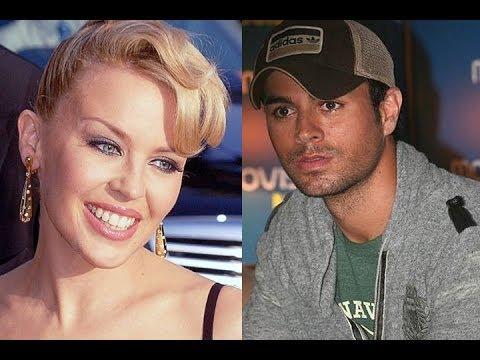 Próximo dueto: Enrique Iglesias y Kylie Minogue