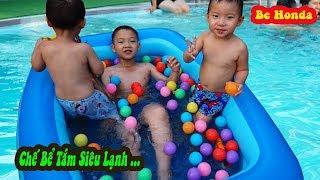 Bể Bơi- Swimming Pool - Bể Bơi Siêu Lạnh của ae Bé Honda.