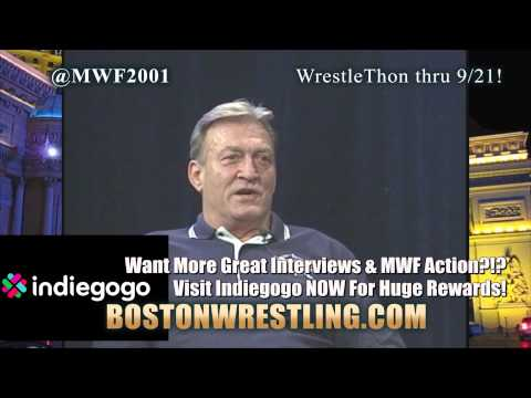 """Mr. Wonderful"" Paul Orndorff Studio Shoot Interview (Complete) FREE Boston Wrestling MWF WWE WCW"