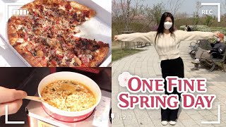 DAILY VLOG : LUNCH DI TEPI HAN RIVER, JOGET BRAVE GIRLS - ROLLIN' 💃 | AMELICANO