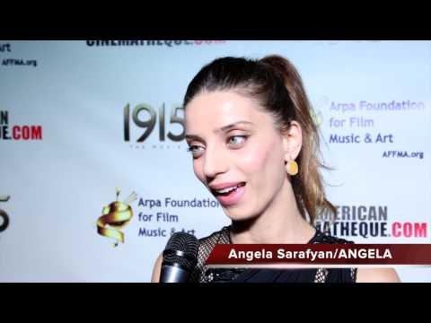 Angela Sarafyan  1915 Movie Premiere  Arpa Foundation for Film, Music & Art