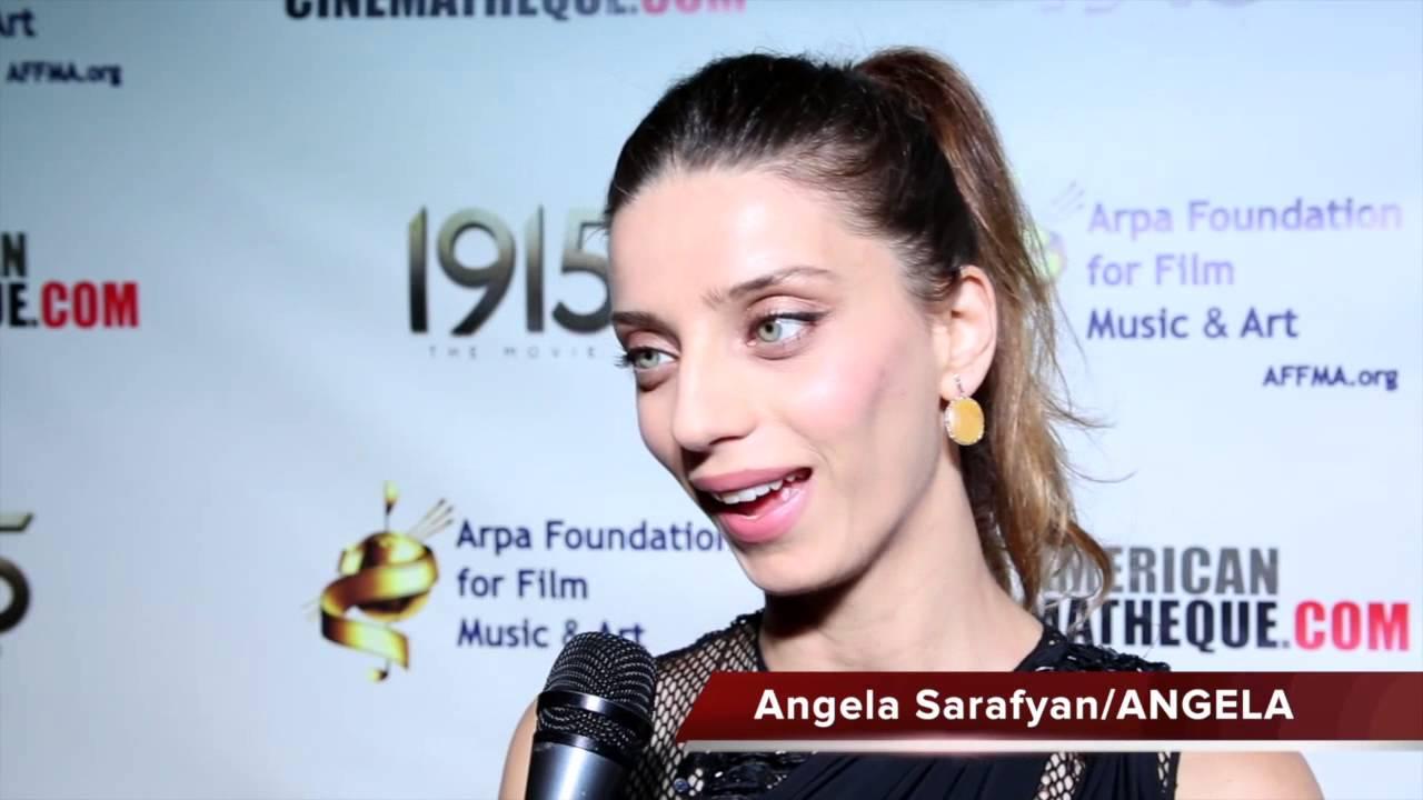 Angela Sarafyan - 1915 Movie Premiere - Arpa Foundation for Film, Music & Art - YouTube